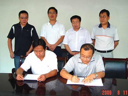 讨赖河北干渠水电站金属结构制造安装合同正式签定